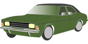 green car illustration