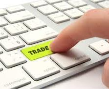 pressing trade button